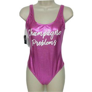 NWT California Waves One Piece Swimsuit Sm Pink